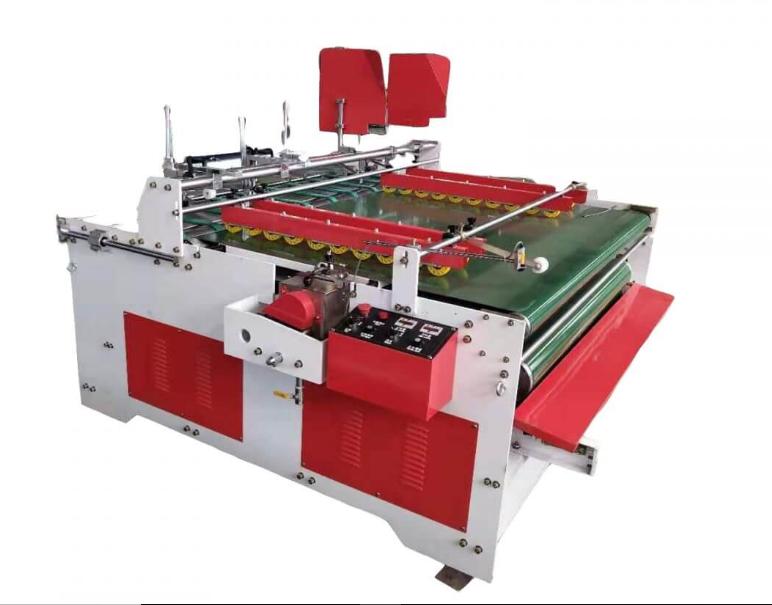 Semi Auto Carton Press Folding & Gluing Machine