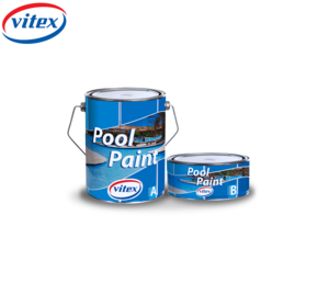 ''Vitex Pool Paint '' 3.5lit- Component , Solvent Based Epoxy Paint - Max Under Water Durability Swimming Pools & Metal Surface