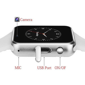 A1 Smart Watch Waterproof Bluetooth Wrist Watch Sport Pedometer With SIM TF Card Camera Smartwatch For Android Watch Phone