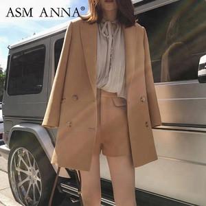 ASM ANNA 2019 fashion european Summer Solid Slim sexy Casual Womens Shorts,Custom Elegant Mini High waist ladies shorts