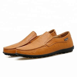 Big Size Genuine Leather Casual Shoes Men