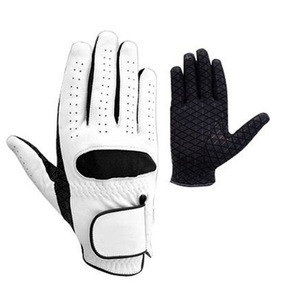 Cabretta men's Golf Gloves LEFT/RIGHT Hand golf glove cabretta