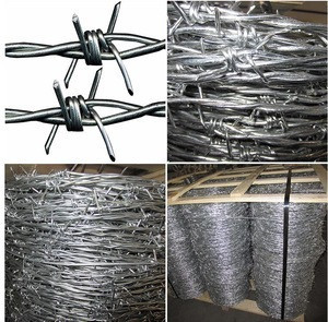 Cheap Price Wholesale Galvanized Barbed Wire With Customizable Specifications/50kg 25kg/Roll Galvanized 2 Strand Barbed Wire