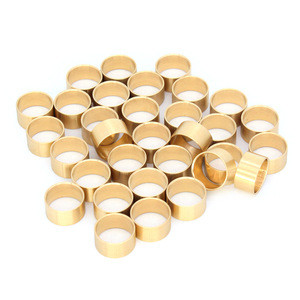 Chinese professional turned parts processing European market cast bronze bushings at the best price