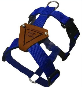 Competitive factory dog harness manufacturers reflective dogs outdoor soft harness with leash.