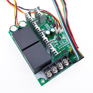 Digital display dc motor speed driver module adjustable 0~100% MAX60A  motor speed  controller PWM controller