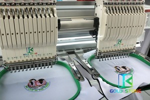 Dongguan Ruilang Embroidery Machine 2 heads has a complete set of other core accessories to ensure good quality and low price