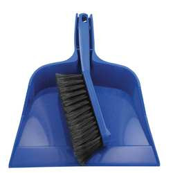 Dust Pan and Brush Set Length 12 In