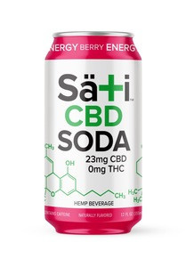 Energy Berry CBD Soda