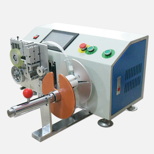 EW-20S Fully automatic cable winding metallic twist tie tying machine with auto meter measuring function