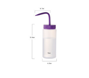 Factory Custom 500ML 1000ML LDPE Plastic Wash Bottle for Laboratory ETHANOL or ACETONE dispensing