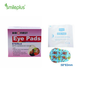 Factory Sale Disposable Soft Non-woven Medical Eye Pad