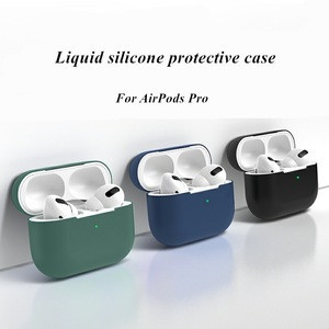 Factory Shockproof Case cover for airpods pro Soft Silicone protective Earphone accessories
