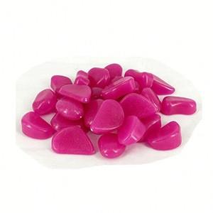 Glow in the dark luminous stone H0T35 cheap pebbles