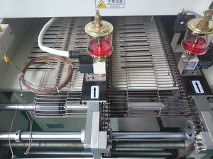 GSD-M6N reflow soldering machine for pcb, led ,smt, smd soldering , necessary machine in led bulb lamp production line and smt