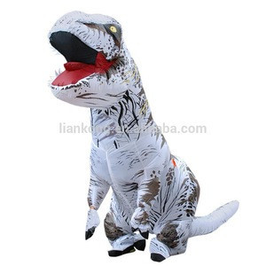Halloween Funny Japanese Realistic adult Dinosaur Costume For Kids cosplay clothing