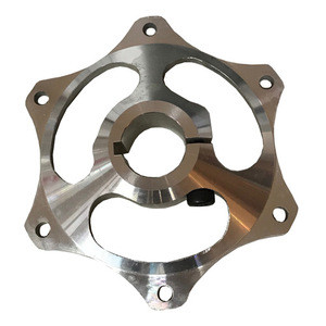 High Performance cnc machining stainless steel aluminum go kart rear axle sprocket carrier