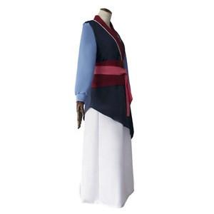 Hua Mulan Dress Blue Dress Princess Dress Movie Adult Cosplay Costume