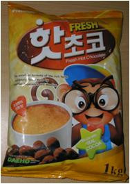 INHYANG PREMIUM HOT CHOCOLATE MADE WITH REAL COCOA
