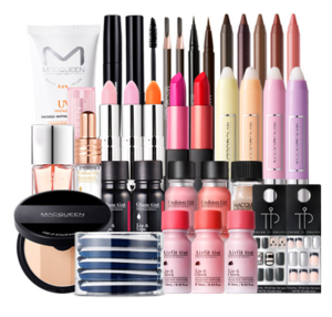 Korea Brand Cosmetic  Waterproof Full Makeup Set Collection for Lip Eye Face Nail Beauty Accessories Whosale