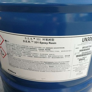 Liquid chemical raw material coating epoxy resin der331,cas 1675-54-3