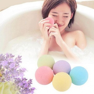 Natural Salt Essential Oils Fizzy Kids Bath Bombs