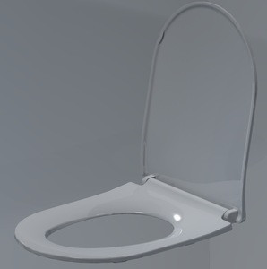 New time PP toilet  quick release toilet seat