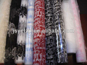 Organza roll, flower sleeve, flower package