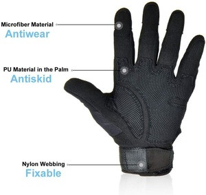 Outdoor Airsoft Hunting Armed Protection Military Tactical Paintball Gloves