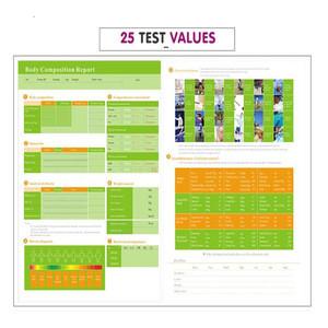 Professional Body composition analyzer home body fat test bio resonance machine