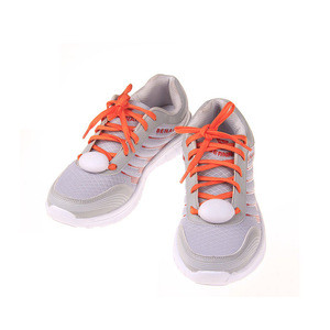 Promotion flashing shoelace factory advertising high quality shoelace multi-color shoelace