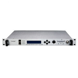 Radio & tv broadcasting equipment  Headend Equipment External Modulation 1550 nm Optical Transmitter with Dual Output