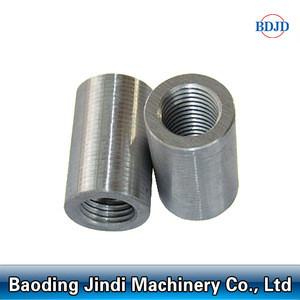 Rebar coupler price in metal building materials/steel bar parallel thread coupling