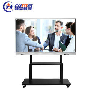 Smart lcd panel touch screen monitor multimedia advertising player digital interactive whiteboard all in one pc