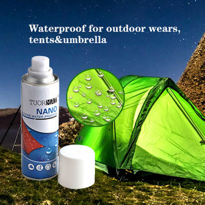 Waterproof spray for canvas