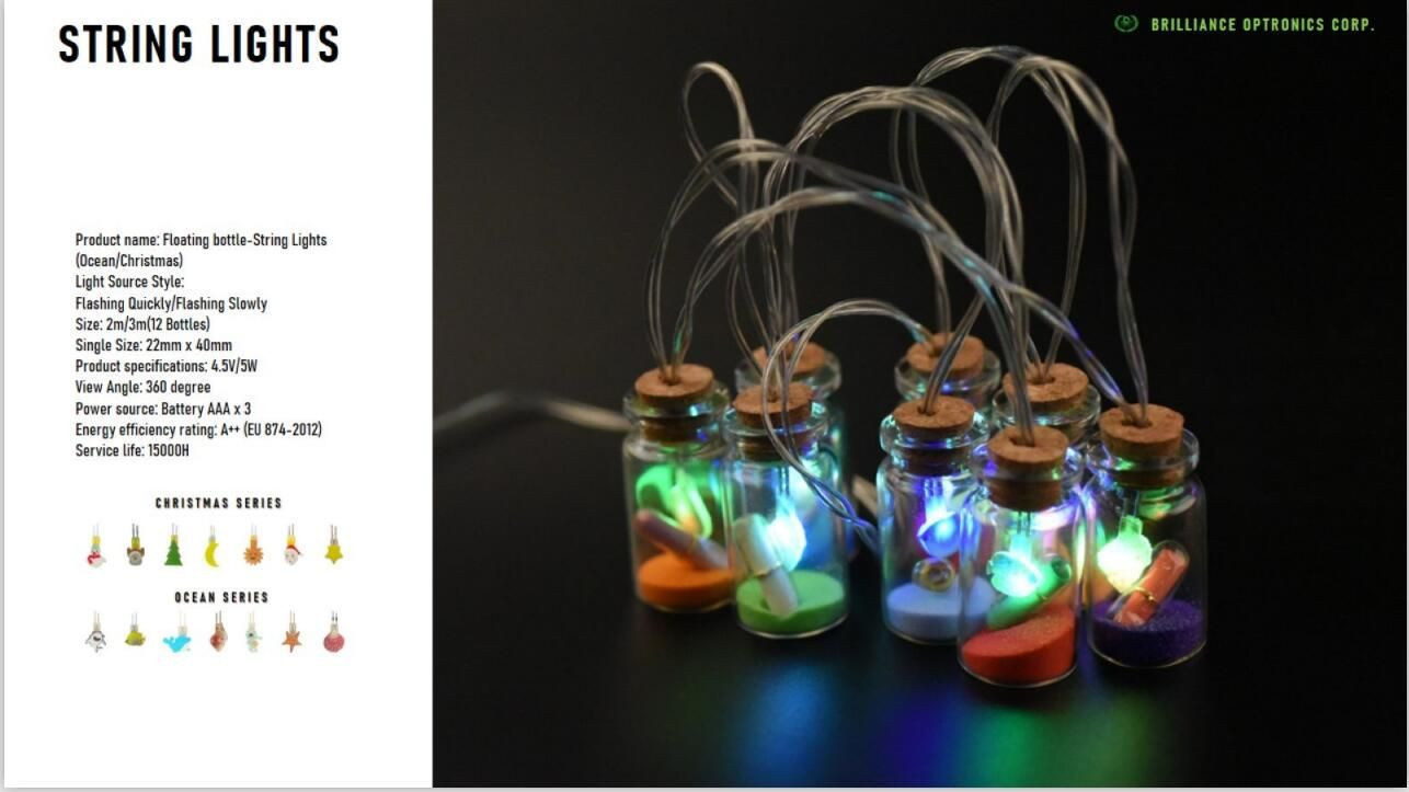 Festival Decorative Led Light (string) With Custom-shaped Light Source, Led Alphabet Bulb Light, Led Motif Bulb Light