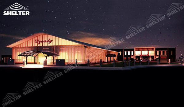 40 by 40 Tent with Curved Roof – Wedding Hall