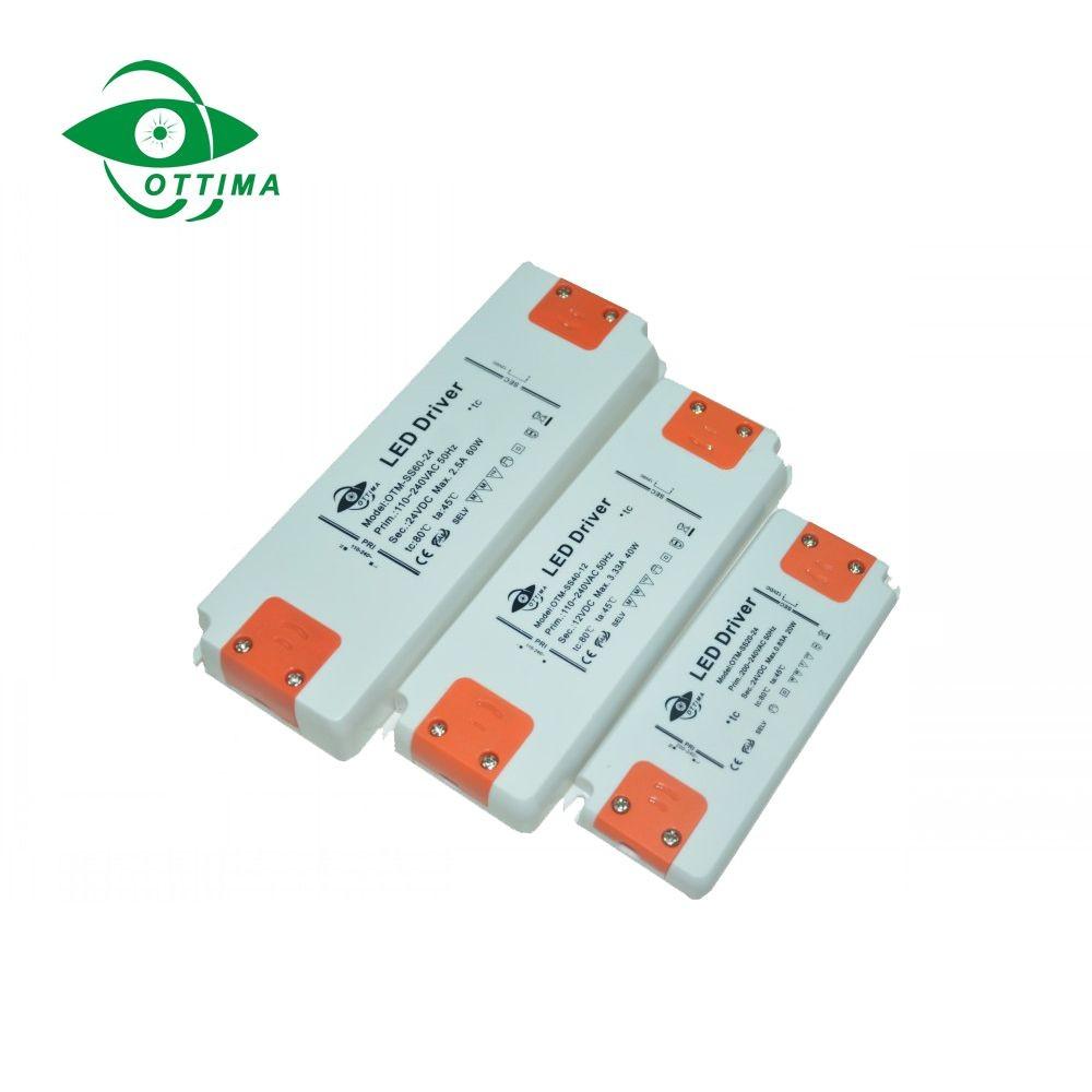 24v 50w ultra thin slim led driver constant voltage