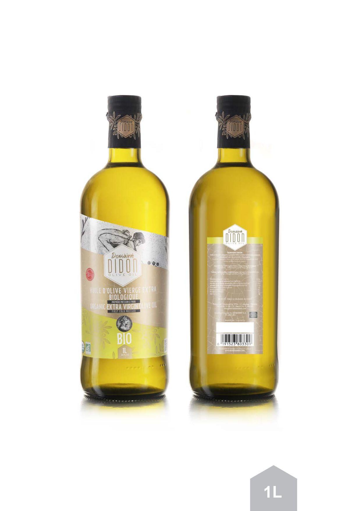 Extra virgin 100%tunisian olive oil