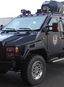 Military Armored Car