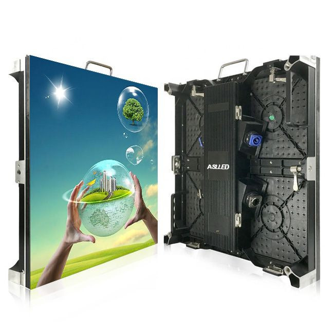 Indoor led display screen p3.91 500x500mm led cabinet panel for stage display screen rental
