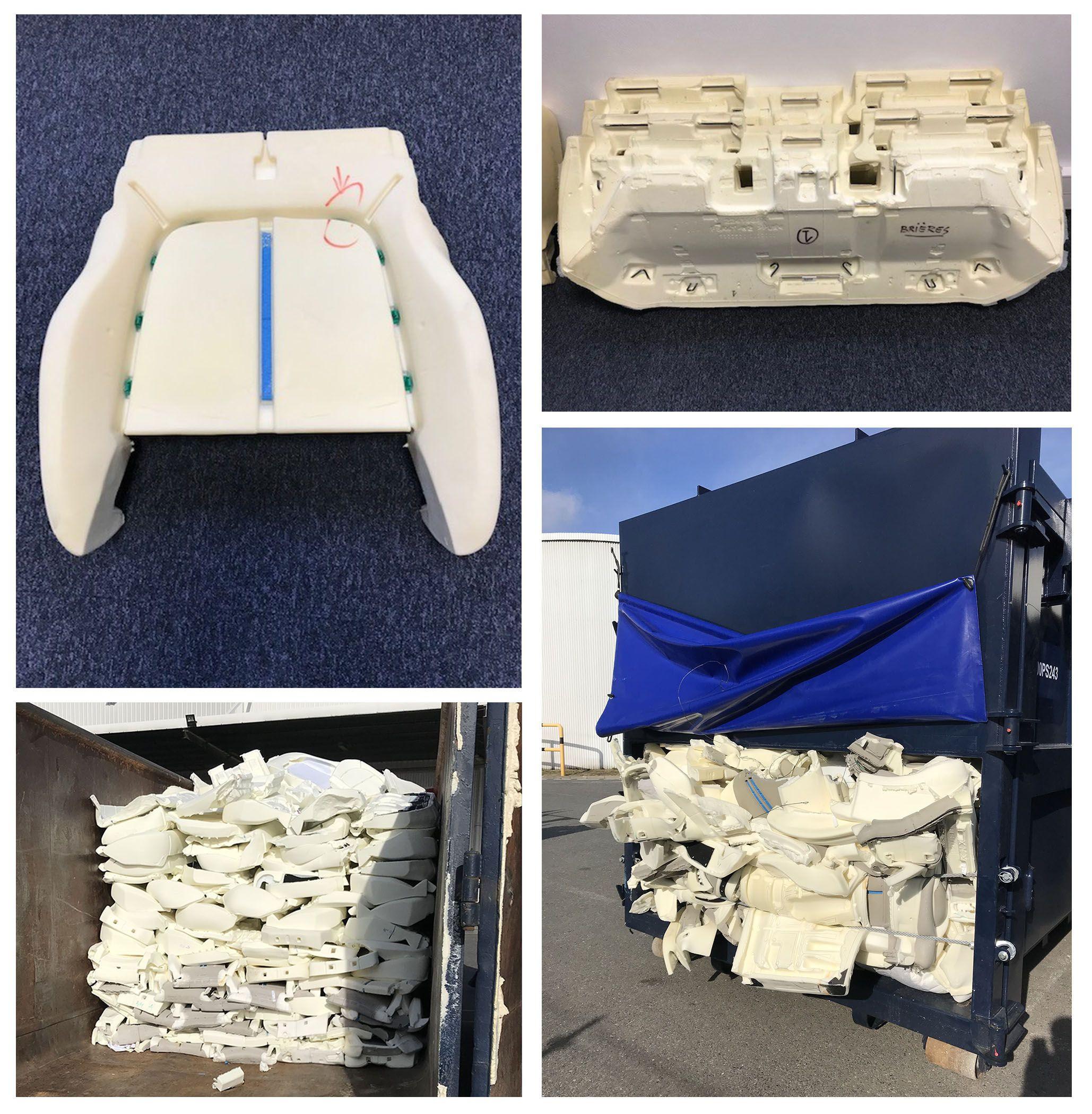 Polyurethane PU Foam trim waste