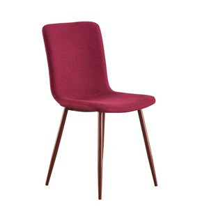 2020 new style simple light luxury dining chair fabric modern dining room chairs for home restaurant