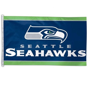 3x5ft NFL sports team seattle seahawks logo flag
