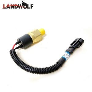60072877 Z1/4-0.65MPa Mobile Truck Crane Rear Brake Lamp Switch For SANY