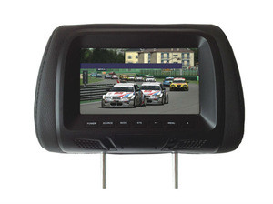 """7"""" popular Car Monitor headrest with RCA input for all cars (XM779)"""
