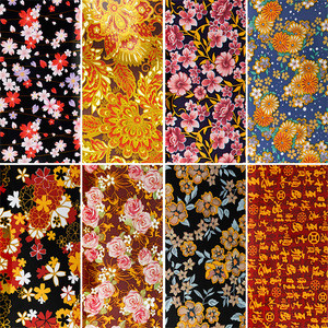 8pcs/set 4*20cm Mix Flower Transfer Foil Nails Decal For Nail Art Foil Manicure Designs