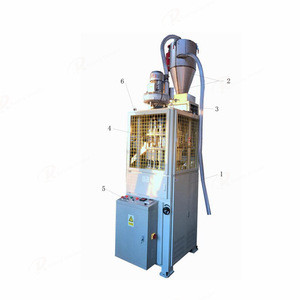 Automatic church and pillar candle making machine