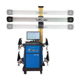 Automotive equipment wheel aligner workable with 4 post lift 3d wheel alignment machine
