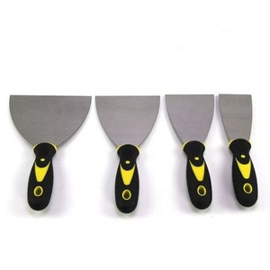 BIYU Factory Direct Sale Stainless Steel Puffy Knives Set with Rubber Handle